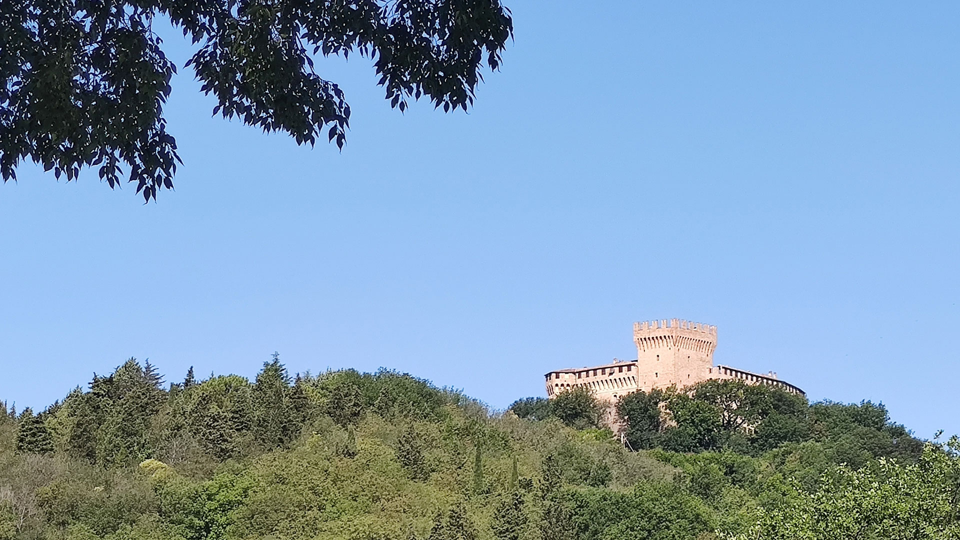 Uscita al Castello di Gradara