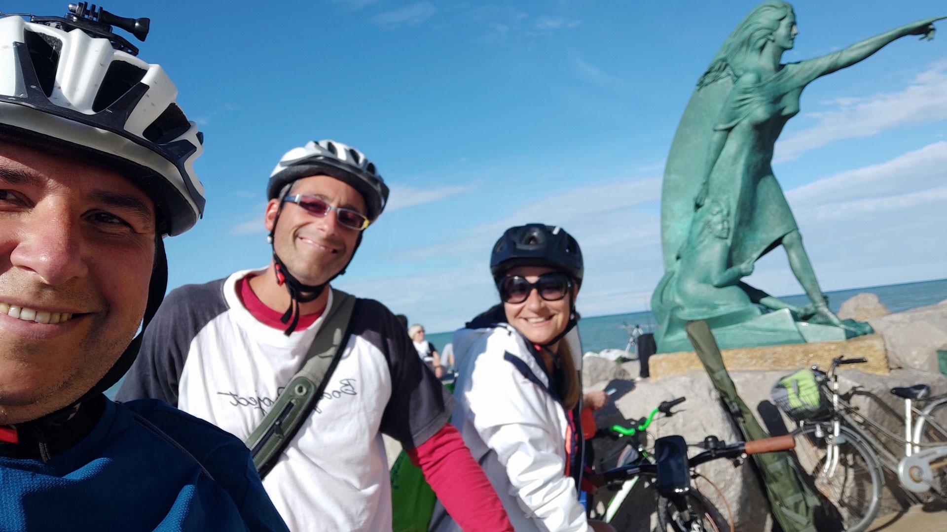 Uscita in bici sino a Rimini